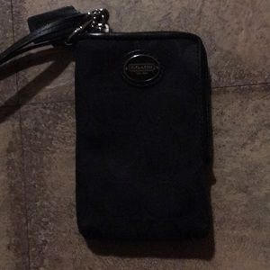Coach I phone 5 wallet case I phone wallet